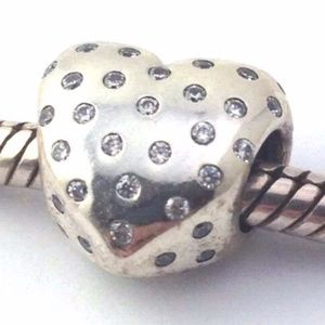 Pandora Sparkle of Love Sterling Silver w/ CZ Bead